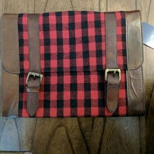 Buffalo Plaid Large Clutch/Bag